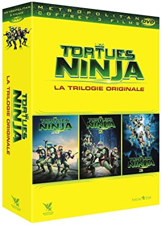 Amazon.com: Coffret les tortues ninja, 3 films : les tortues ...