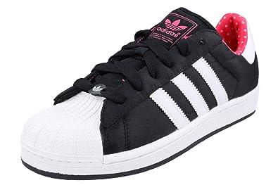 842c4c921e53ae Adidas Superstar 2 W Damen Schuhe Originals Sneakers Schwarz Weiß Neu Q23588