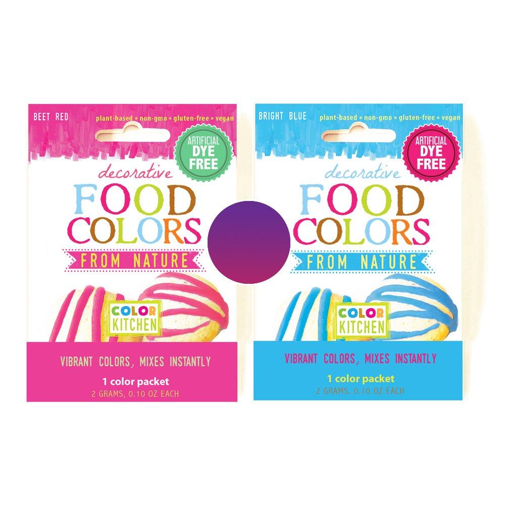 Amazon.com : ColorKitchen 0.1 oz. Food Color Packet Combo - ORANGE ...