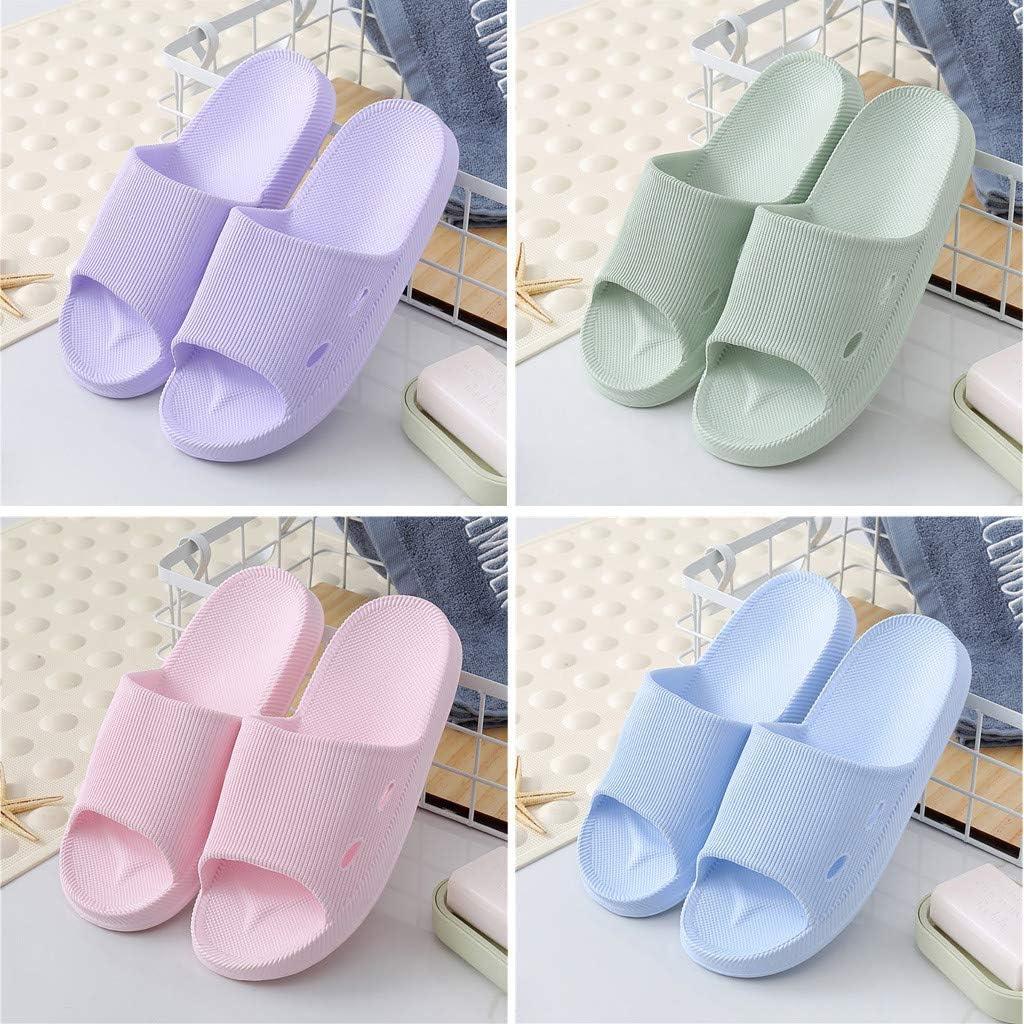 Slippers for Women Non Slip,Shower Sandal Slippers Quick Drying Bathroom Slippers Soft Sole Open Toe House Slippers