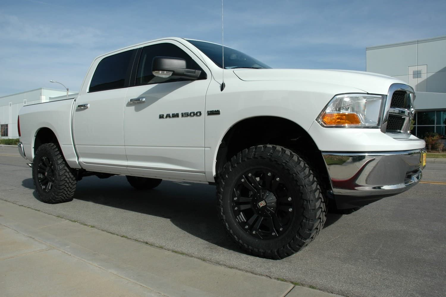 4 Lift Kit w//Gen II fabricated spindles no shocks CST CSK-D23-2 02-08 RAM 1500 2WD