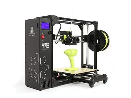 Amazon.com: LulzBot TAZ Workhorse Impresora 3D: Industrial ...