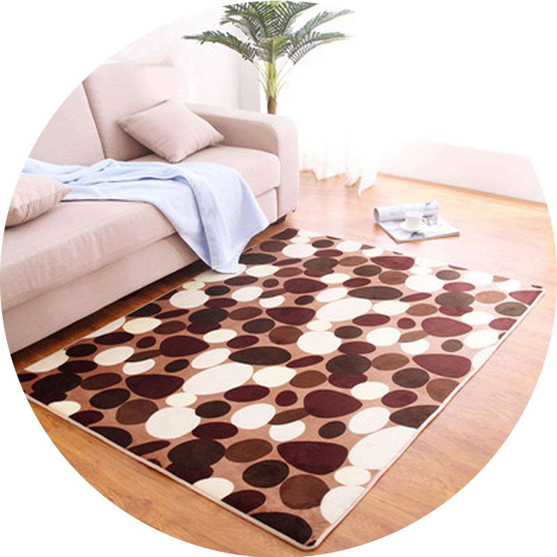 80 x120cm Thicken Bedroom mats Living Room Printing Blankets Home Rugs Bathroom Toilet Cushions Door mat Carpet,1,80cm x200cm by Ting room