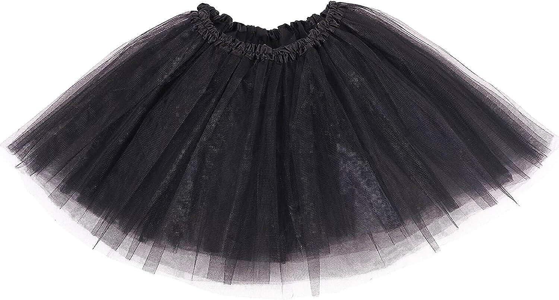 Women Stretch Fluffy Tutu Skirt Pretty skirt Princess Ballet Party Dancewear