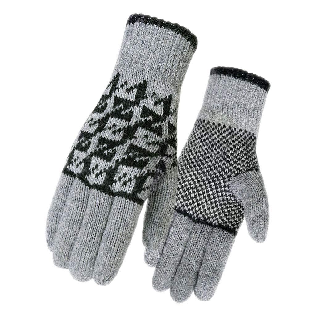 Knit Wrist 10.5 oz Carolina Glove /& Safety 039-130 Mens Brown Jersey Gloves