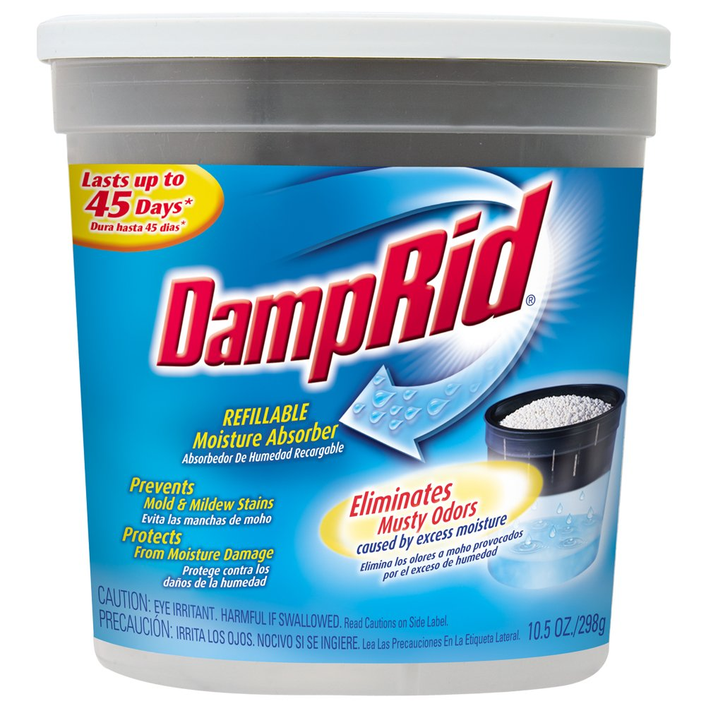 DampRid FG01K Refillable Moisture Absorber Fragrance Free