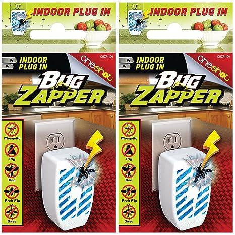 Amazon.com : (Set/2) Indoor Outlet Plug-in Mini Bug Zapper ...