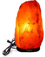 """Purest Naturals Himalayan Salt Lamp- 8-9"""" inch- Freshens the Air and Provides Antiseptic and Antiviral Effects"""
