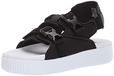 bf9cc9de0806 Amazon.com  PUMA Women s Platform Slide Ylm Sandal  Shoes