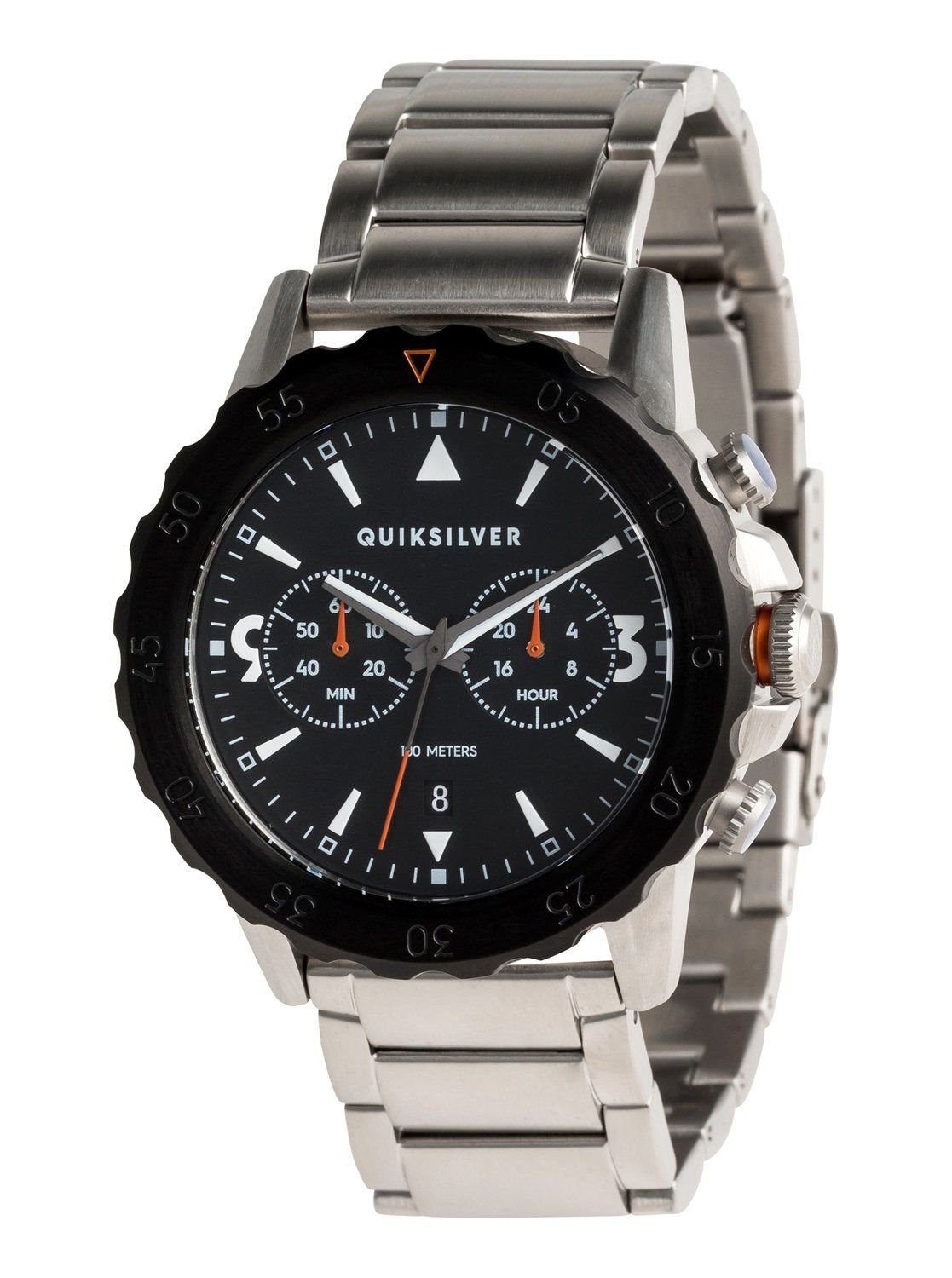 Kombat Chrono Metal quiksilver analogic watch EQYWA03021