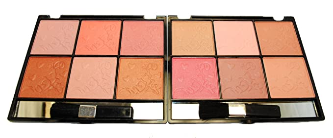 12 Classic Color Elegant Blush Set