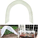 BEAMNOVA Greenhouse Hoops 6-Pack 4 Ft Garden Hoops Support for Plant Cover Rust Free Plastic, Dia 3.2mm (1/8 in)