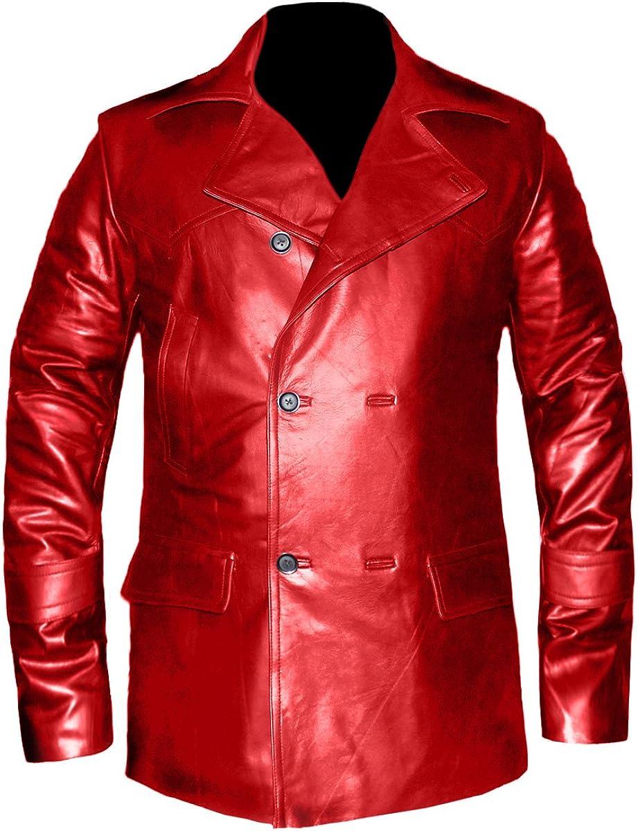 Who Biker Genuine Leather Biker Bomber Vintage Jacket #545 Christopher Eccleston Dr