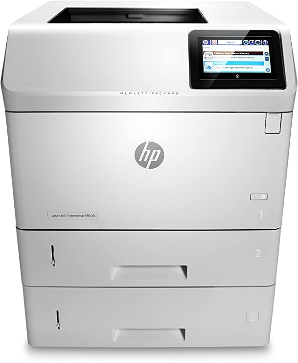 Amazon.com: HP Impresora LaserJet Enterprise M606 x ...