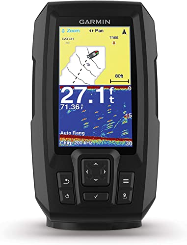 Garmin Striker Plus w/Dual-Beam 4 Fish Finder