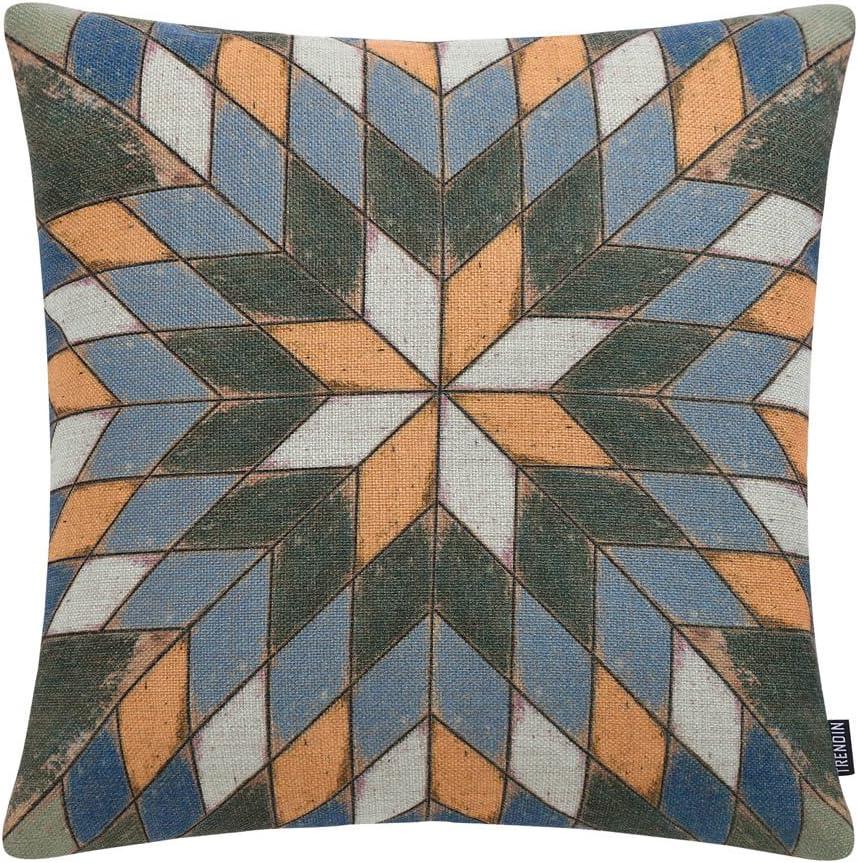 trendin vintage bird style cotton linen