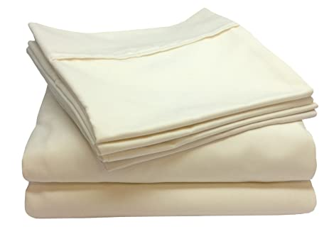 Blissful Living 800 Thread Count Cotton Rich 4 6 Piece Sheet Set   INCLUDES  EXTRA