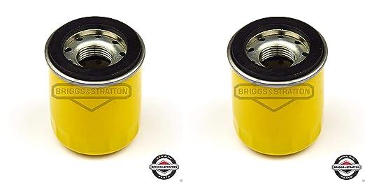2 unidades, filtros de aceite sustituye a Briggs & Stratton ...