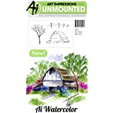 "Art Impressions Cling Rubber Stamp Sets 3""X4""-Old Barn"