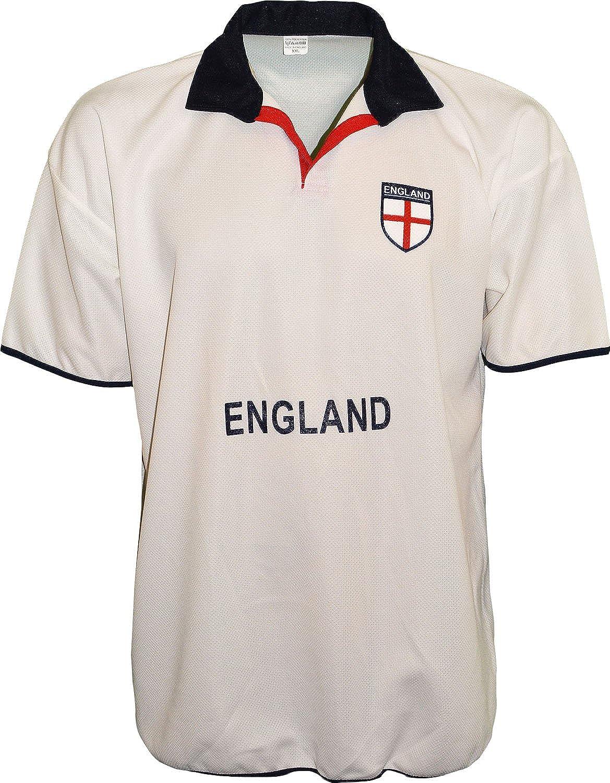 Selección de fútbol de Inglaterra para hombre Polo de manga corta ...