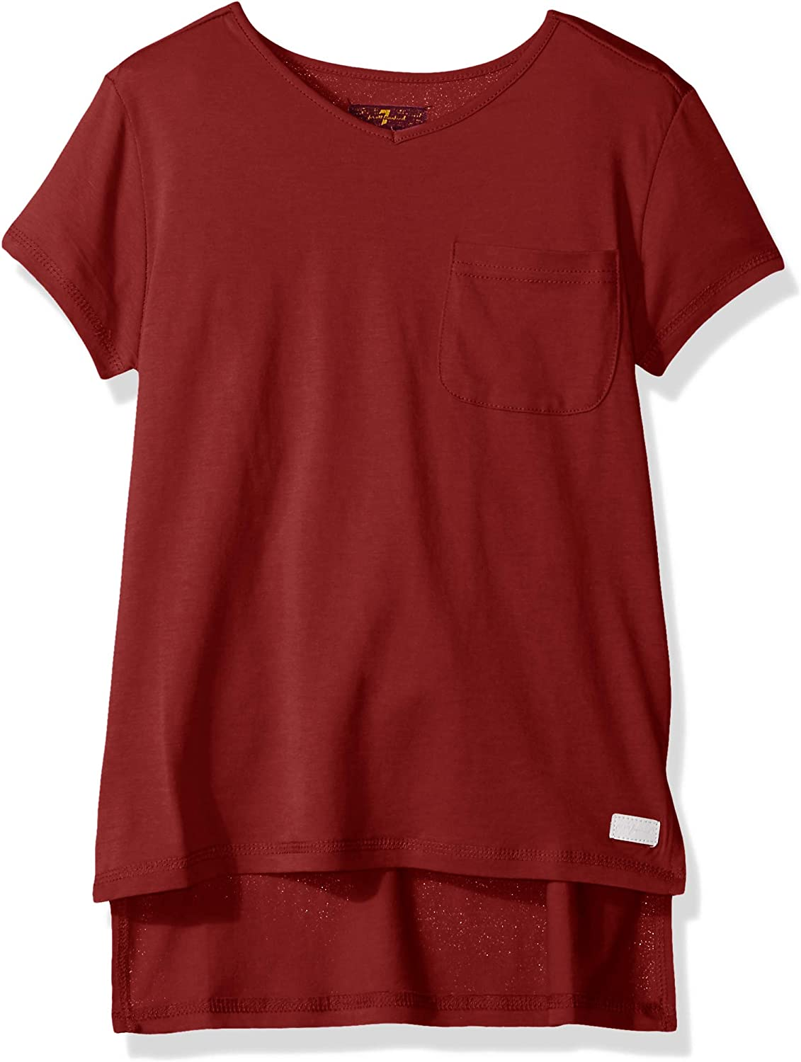7 For All Mankind Girls High Low T-Shirt