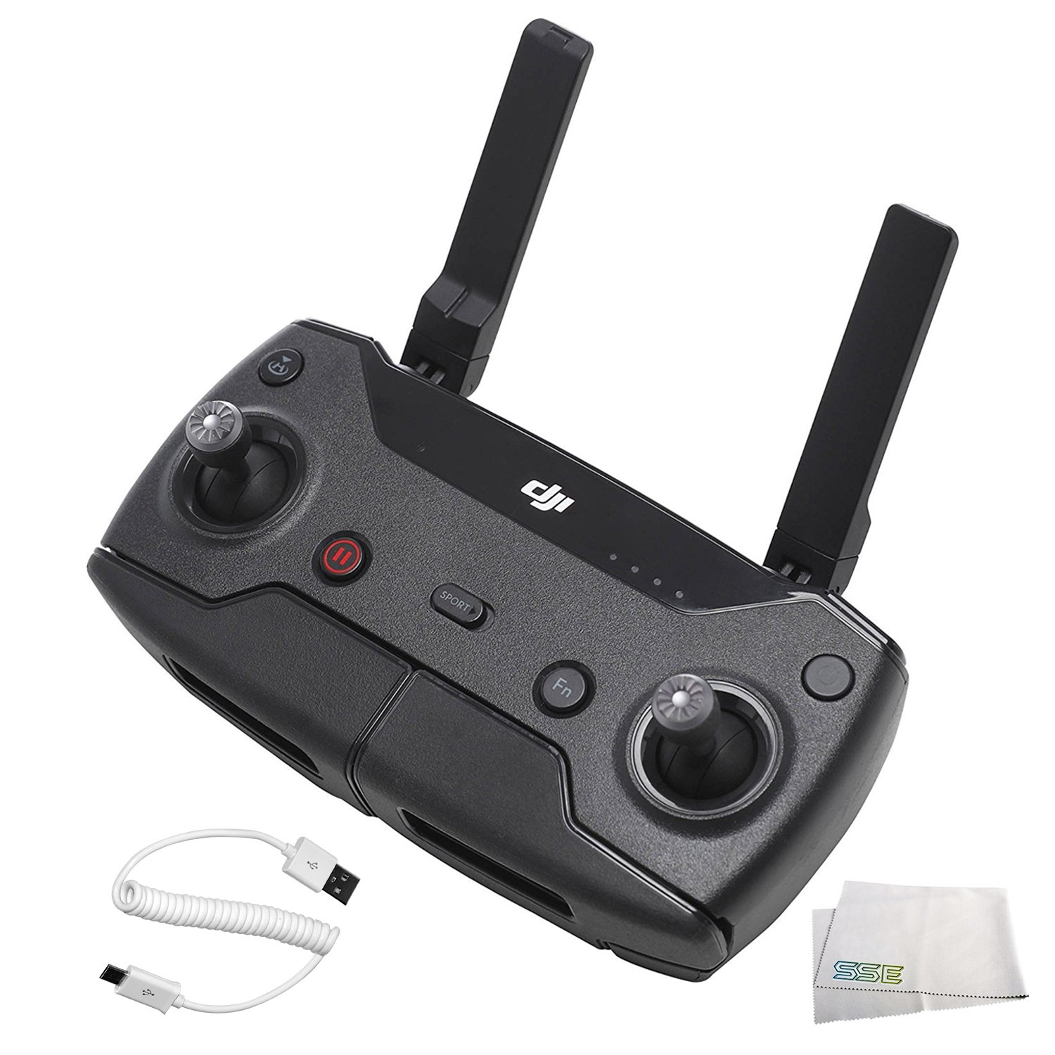 DJI Spark Remote Controller Bundle, Black (CP.PT.000792) by SSE