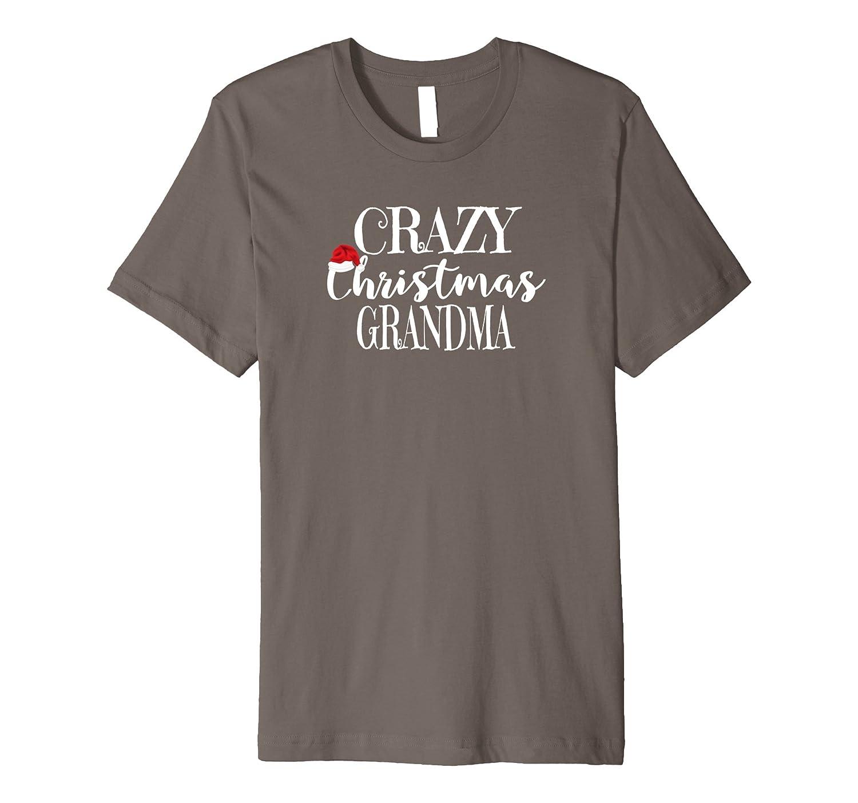 Crazy Christmas Grandma Shirt Santa Ugly Party-Rose