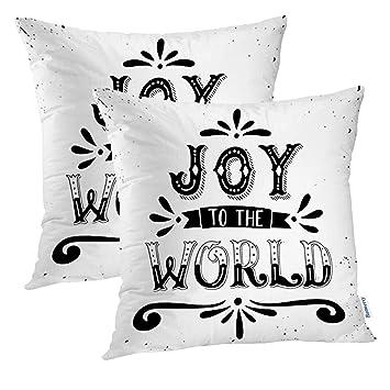 Amazon.com: Fundas de almohada decorativas de Batmerry Merry ...