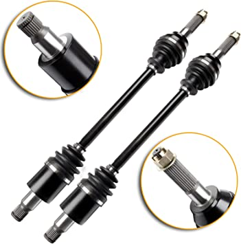 SCITOO CV Axle Shaft Assembly fits for 2008-2012 Rear Left Axle Shaft Assemblies Driving Shaft CV Boot joints