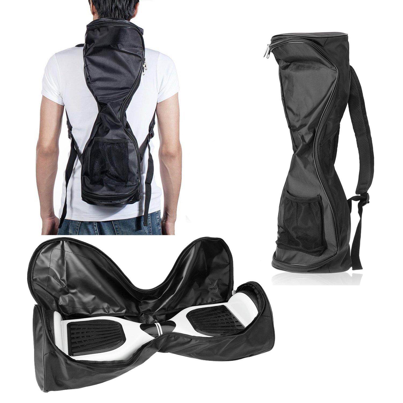 Michael Josh Waterproof Hover Board Bag Backpack for Smart Self Balancing Scooter Drifting Board,Mesh Pocket - Adjustable Shoulder Straps(Black)