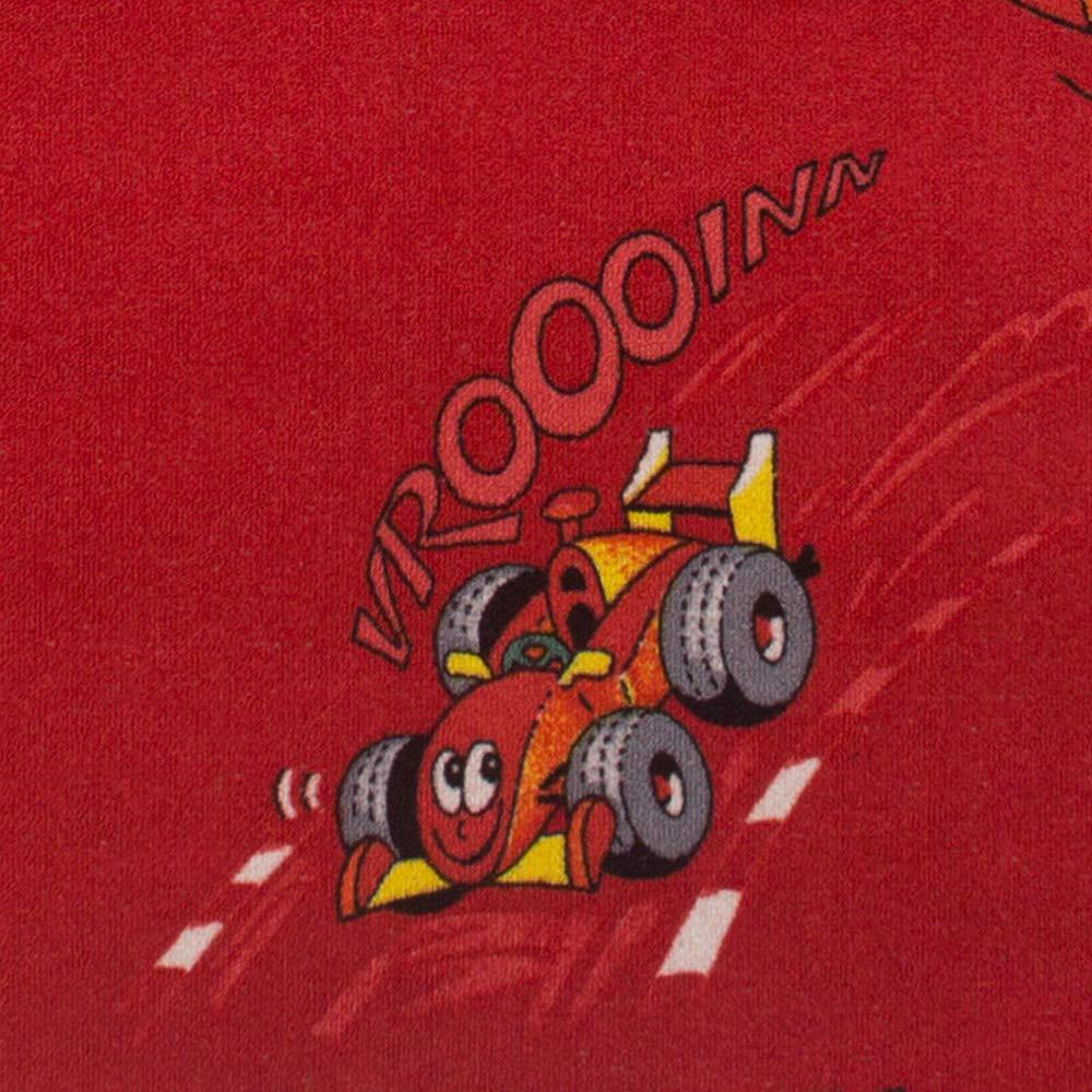 BilligerLuxus Teppich KINDERTEPPICH Racing Auto /& Co 160x240 rot