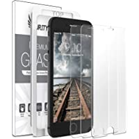Purity Glass Screen Protector for iPhone 8 / iPhone 7 (3-Pack) [w/Installation Frame] Tempered Glass Screen Protector Compatible with Apple iPhone 8, iPhone 7 [Case Friendly] (4.7-in) (3 Pack)