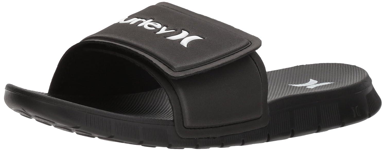 81c7a4a4bcd5 Hurley Mens Fusion 2.0 Slide Flip-Flop  Amazon.ca  Shoes   Handbags