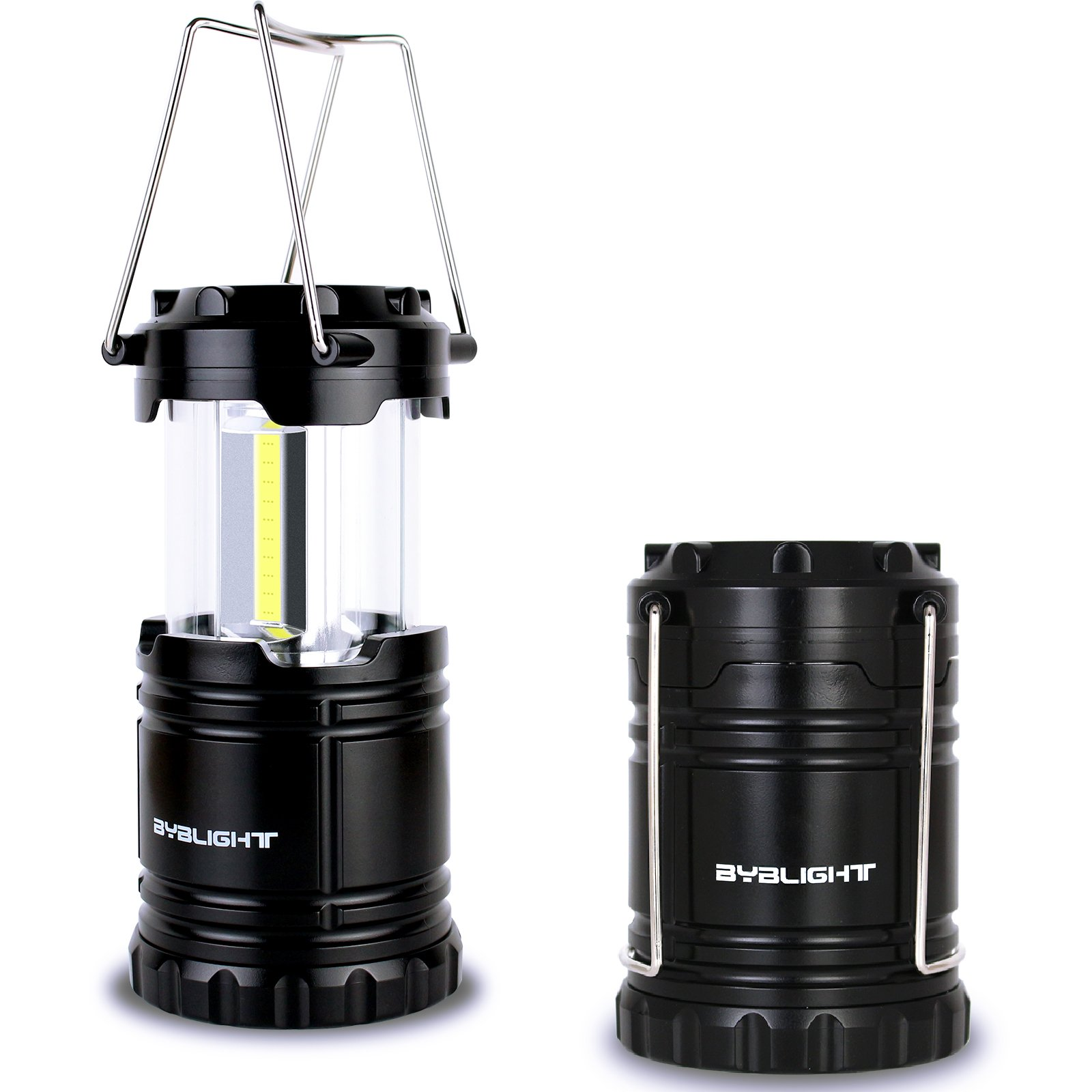 Byb 300 Lumens Outdoor Led Camping Lantern Collapsible Emergency Flashlight W.. 14