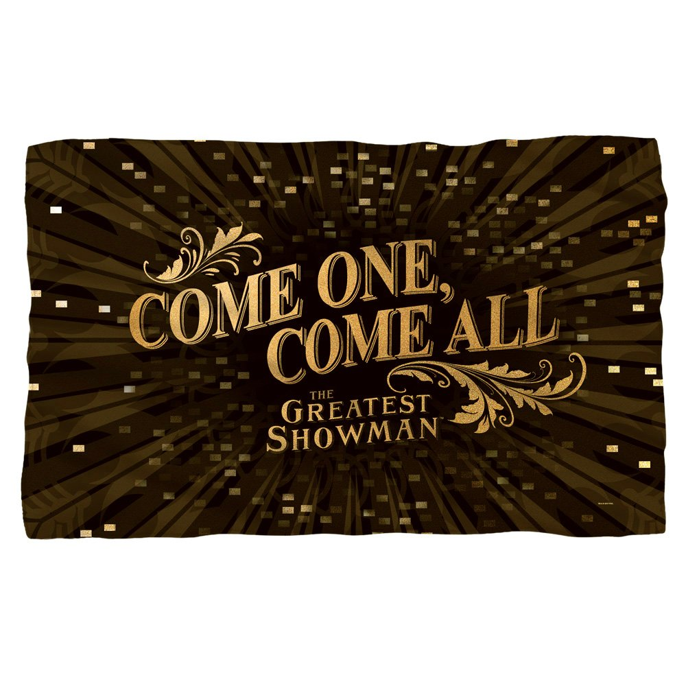 The Greatest Showman Come One Come All Fleece Blanket (36'' x 58'')