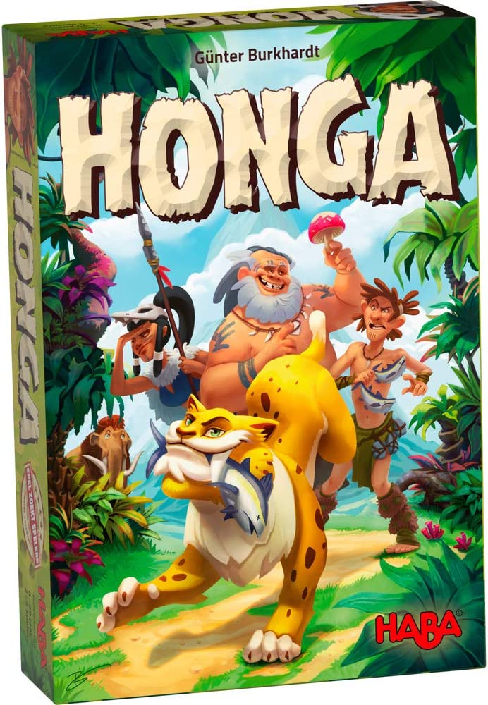 HABA HONGA - an Exciting Tactical Strategy & Resource Management Board Game for Beginner & Experienced Players (Made in Germany)