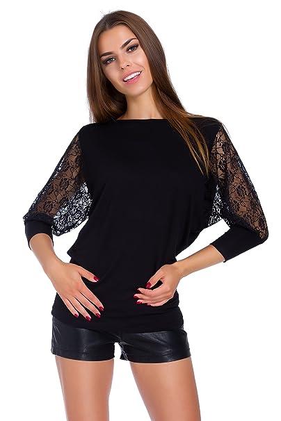 Amazon.com: Futuro Fashion 6047 - Blusa casual para mujer ...