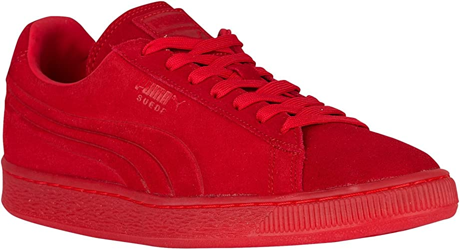 PUMA Suede Emboss Iced Fashion Sneakers