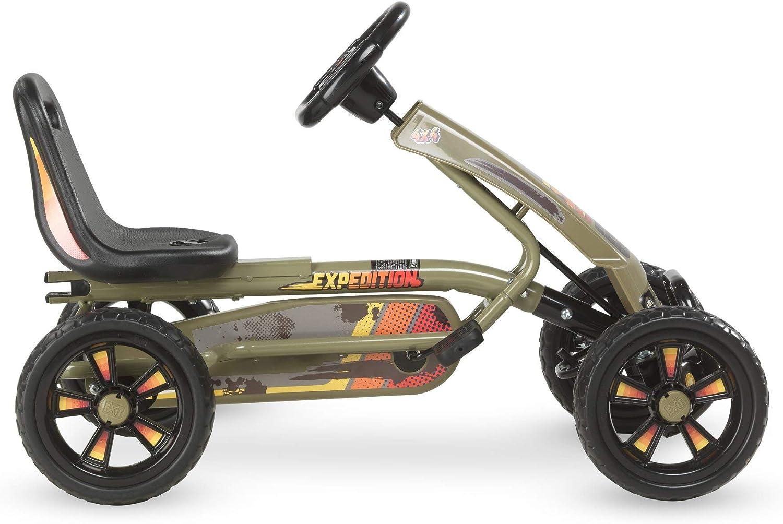 Vert fonc/é EXIT Kart Foxy Expedition avec remorque
