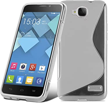 Cadorabo Alcatel One Touch Idol S Funda de Silicona TPU DISEÑO S ...