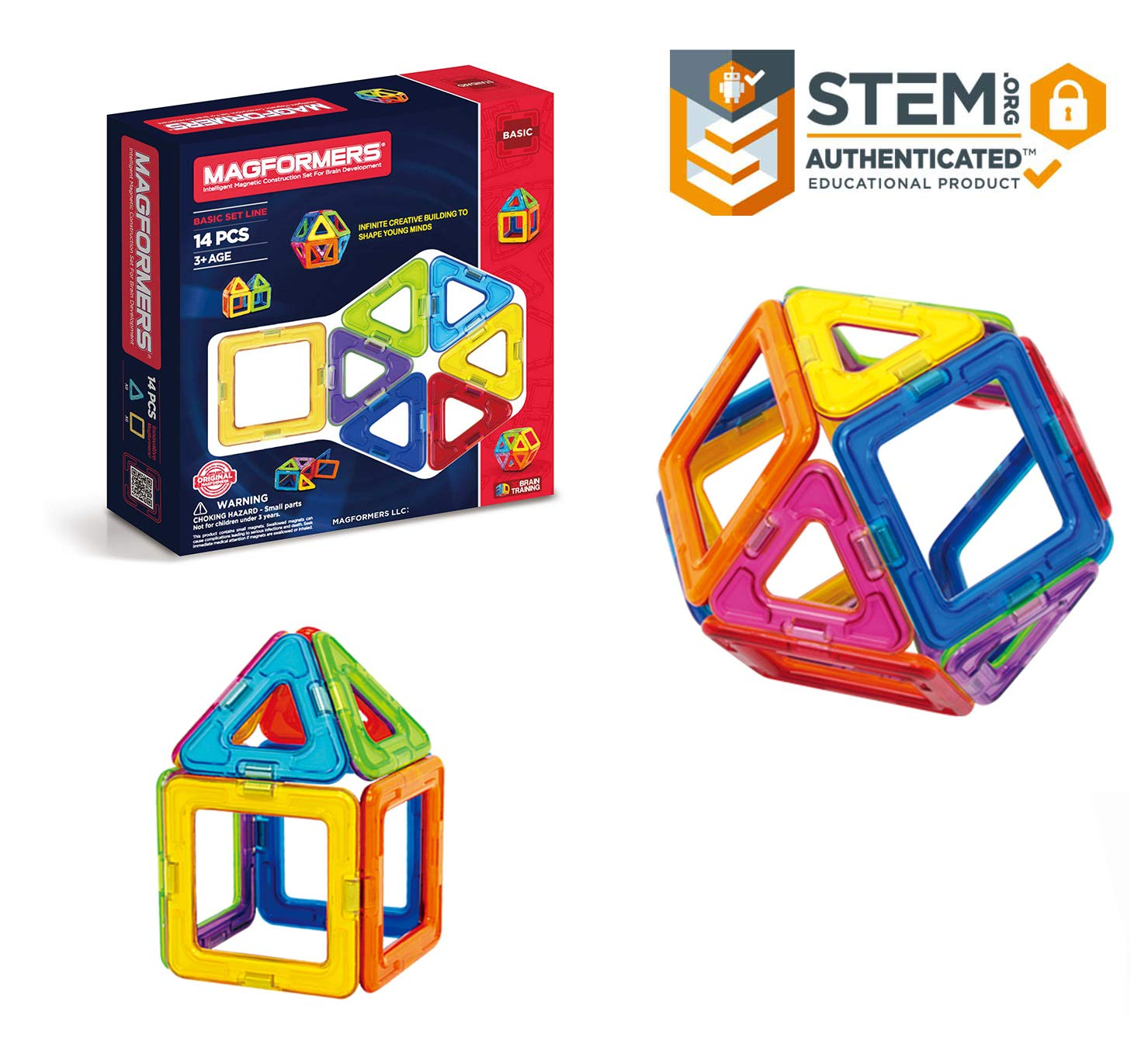 Magformers 14-Piece Set for $1...