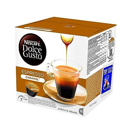 Nestlé Nescafe Dolce Gusto Coffee Pods - Espresso Caramel ...