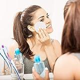 SIQUK 20 Pieces Reusable Cotton Rounds Makeup