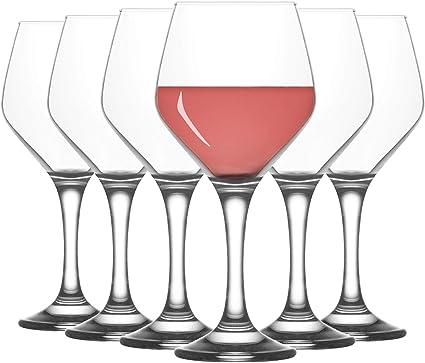 Lav Ella - Copa de Vino Grande - 450 ml - Pack de 12