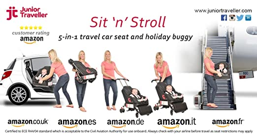 travel car seat & holiday buggy 2