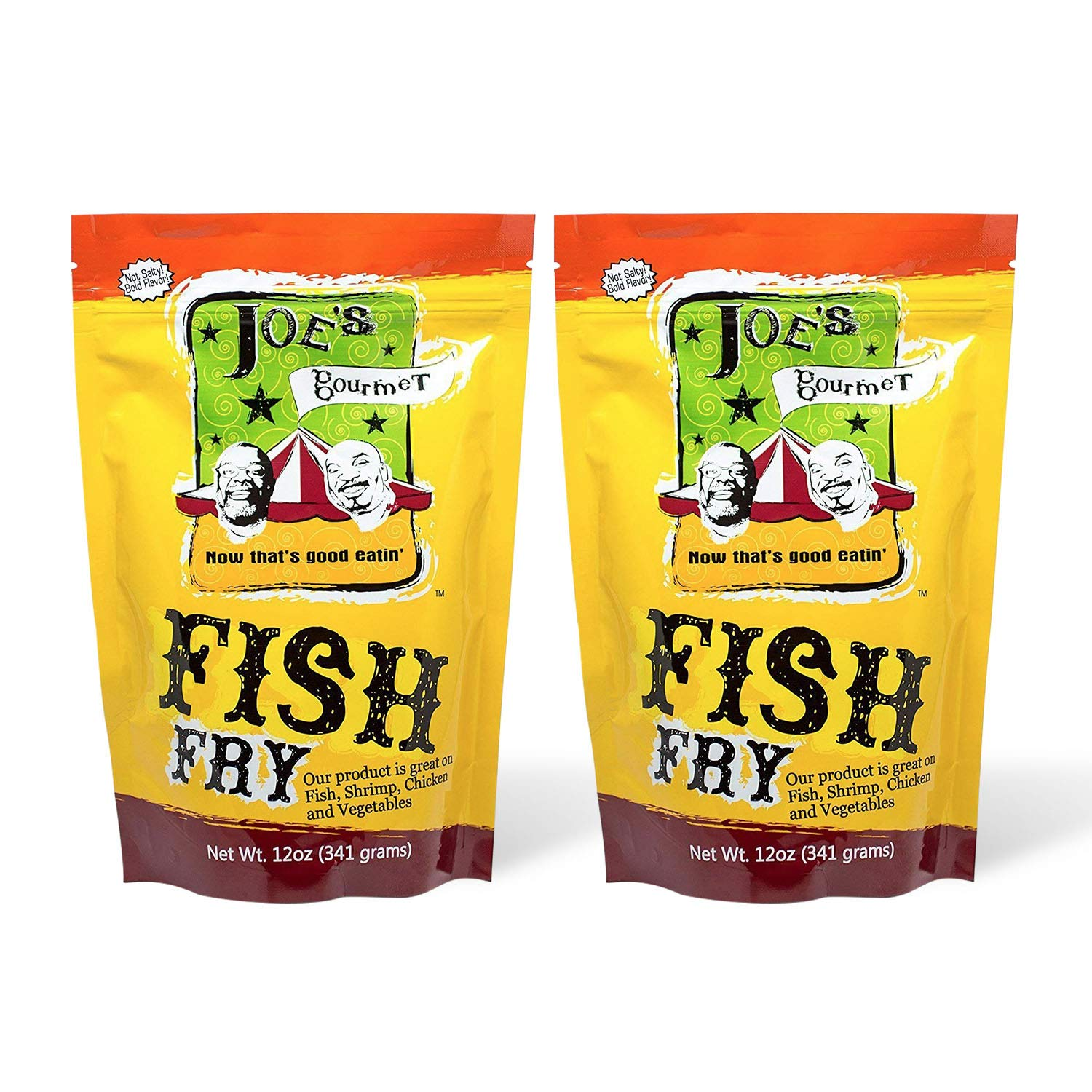 Joe's Gourmet Fish Fry, Seafood Breading Mix, As Seen on Shark Tank, 12 Oz (Original, 2 Pack)
