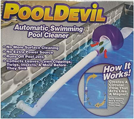 Pooldevil Pro Swimming Pool Skimmer