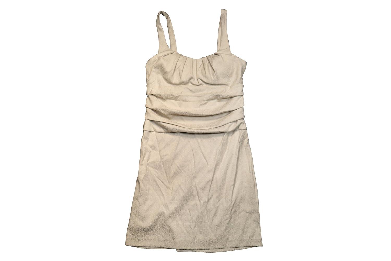 B. Darlin Ruched Knee Length Sleeveless Dress