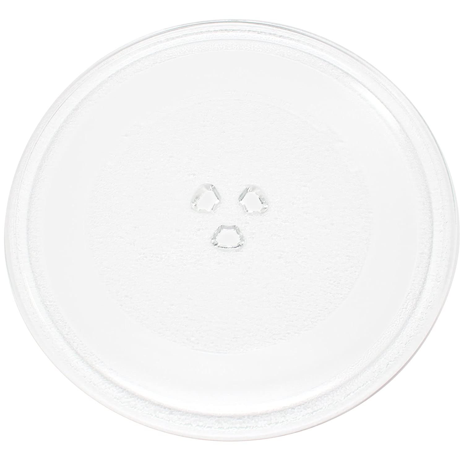 "Replacement Emerson MW7300 Microwave Glass Plate - Compatible Emerson 203600 Microwave Glass Turntable Tray - 10"" (255mm)"
