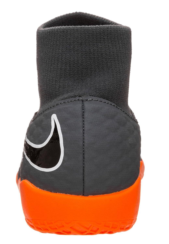 new concept 19b46 f77d7 Amazon.com   Nike Youth Hypervenom Phantomx 3 Academy DF Indoor Shoes    Soccer
